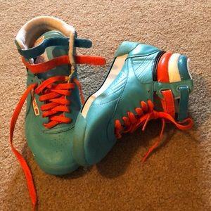 High top sneakers!